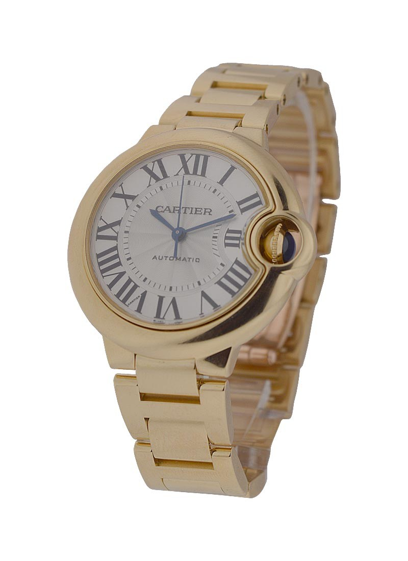Cartier Ballon Bleu Ladies 33mm Automatic in Yellow Gold