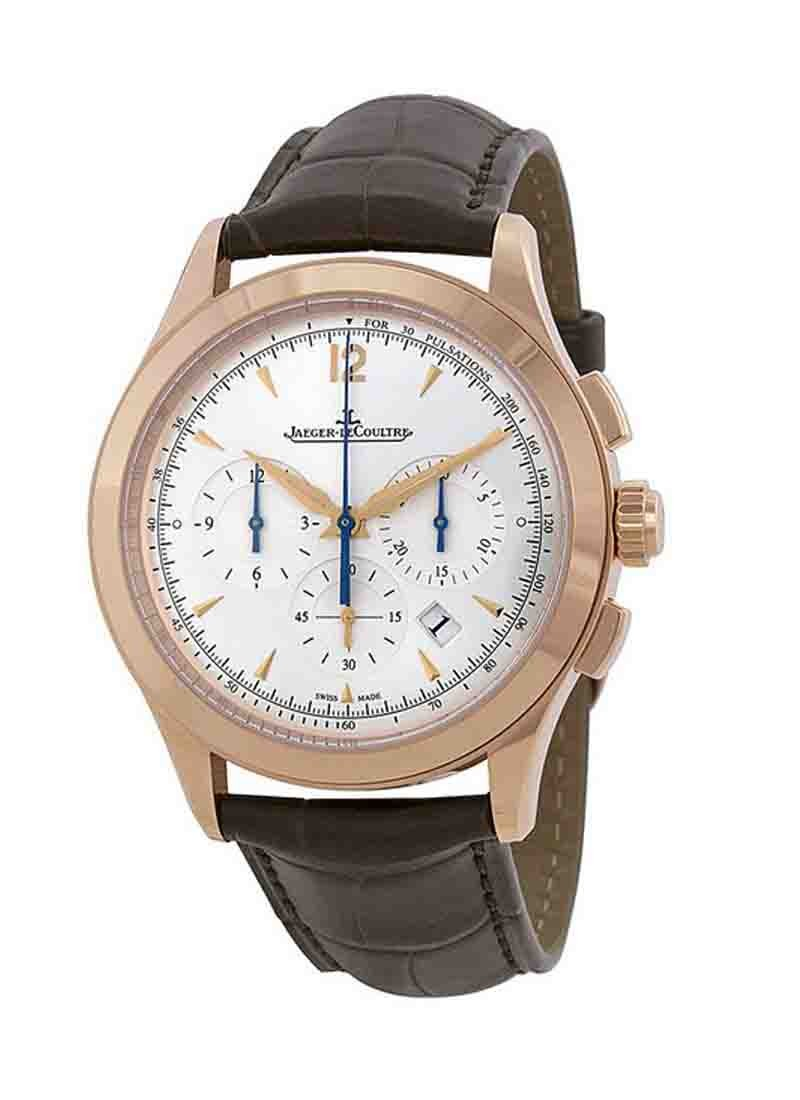 Jaeger - LeCoultre Master Chronograph in Rose Gold