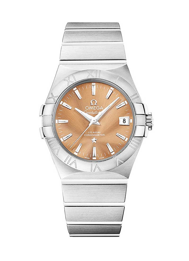 Omega Constellation in Steel