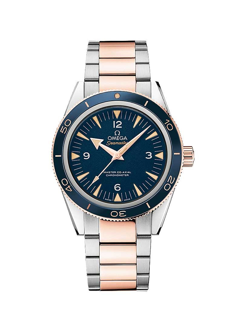 Omega Seamaster Pro 300 Co-axial Mens 41mm Automatic in Steel