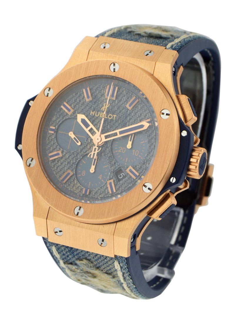 Hublot Big Bang Jeans 44mm in Rose Gold