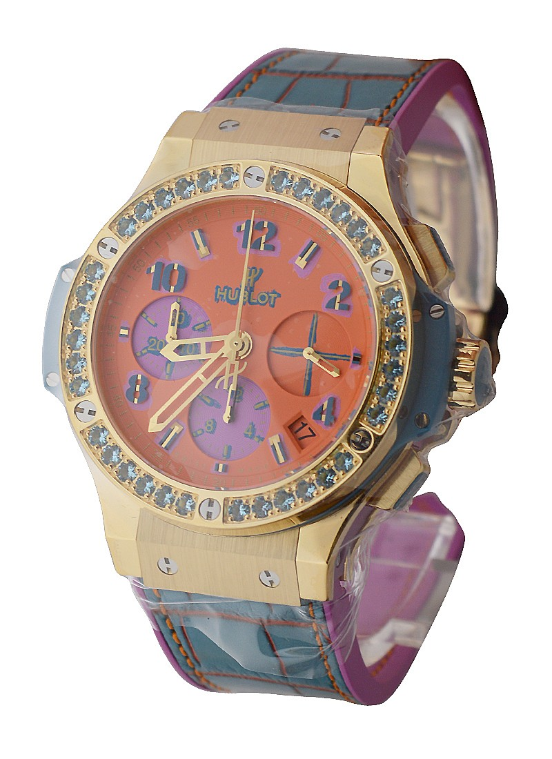 Hublot Big Bang Pop Art Yellow Gold Apple