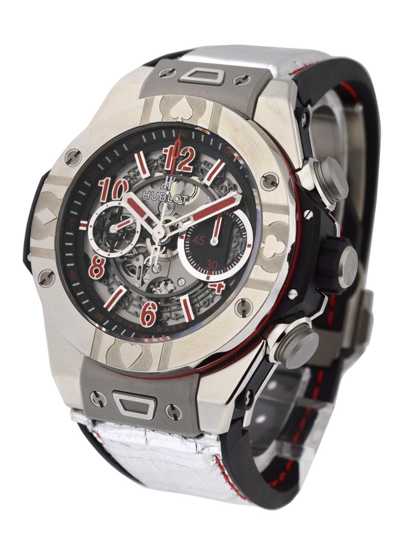 Hublot Big Bang Unico World Poker in Steel