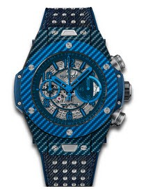 Hublot Big Bang Unico mens 45mm Italia Independent Texalium Case