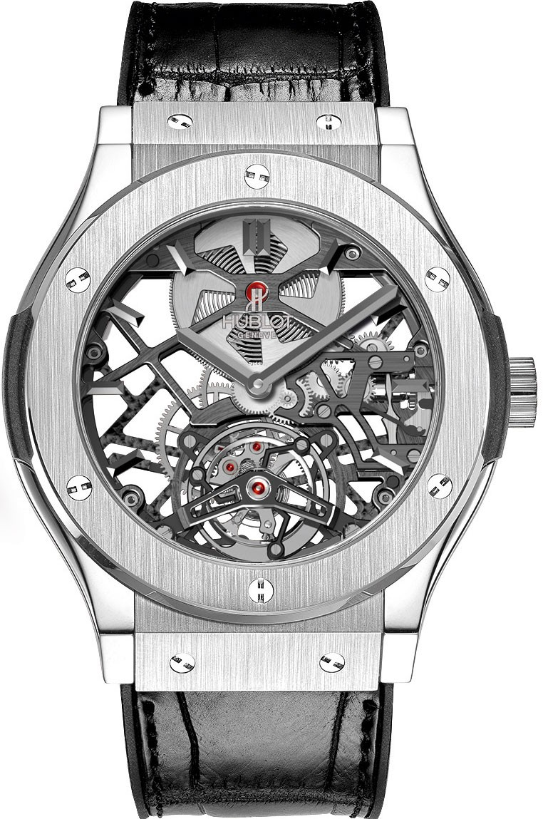 Hublot Classic Fusion Tourbillon in Platinum