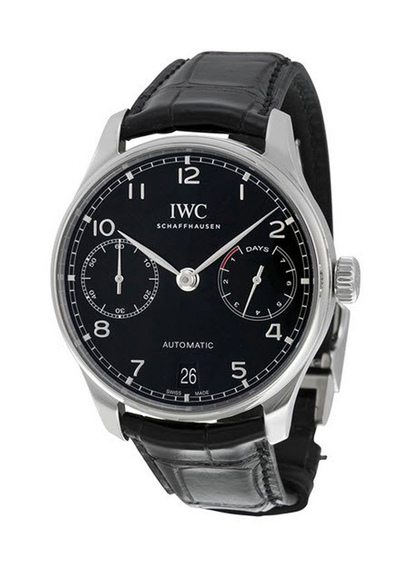 IWC Portuguieser 7 Day Automatic in Steel