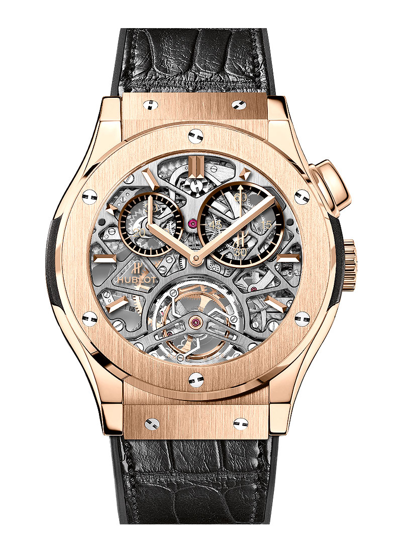 Hublot Classic Fusion Tourbillon 45mm in King Gold