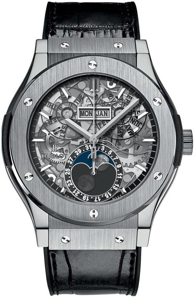 Hublot Classic Fusion Aerofusion mens 45mm Automatic in Titanium