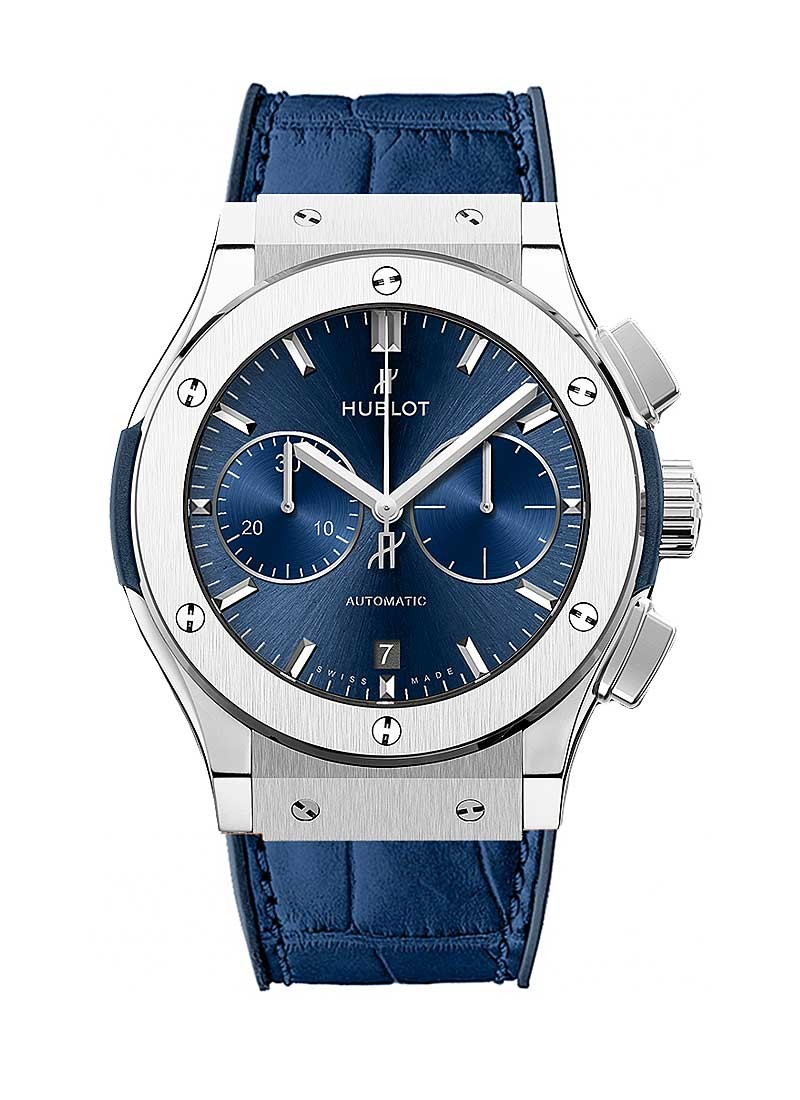 Hublot Classic Fusion Aerofusion Chronograph Mens 45mm Automatic in Titanium