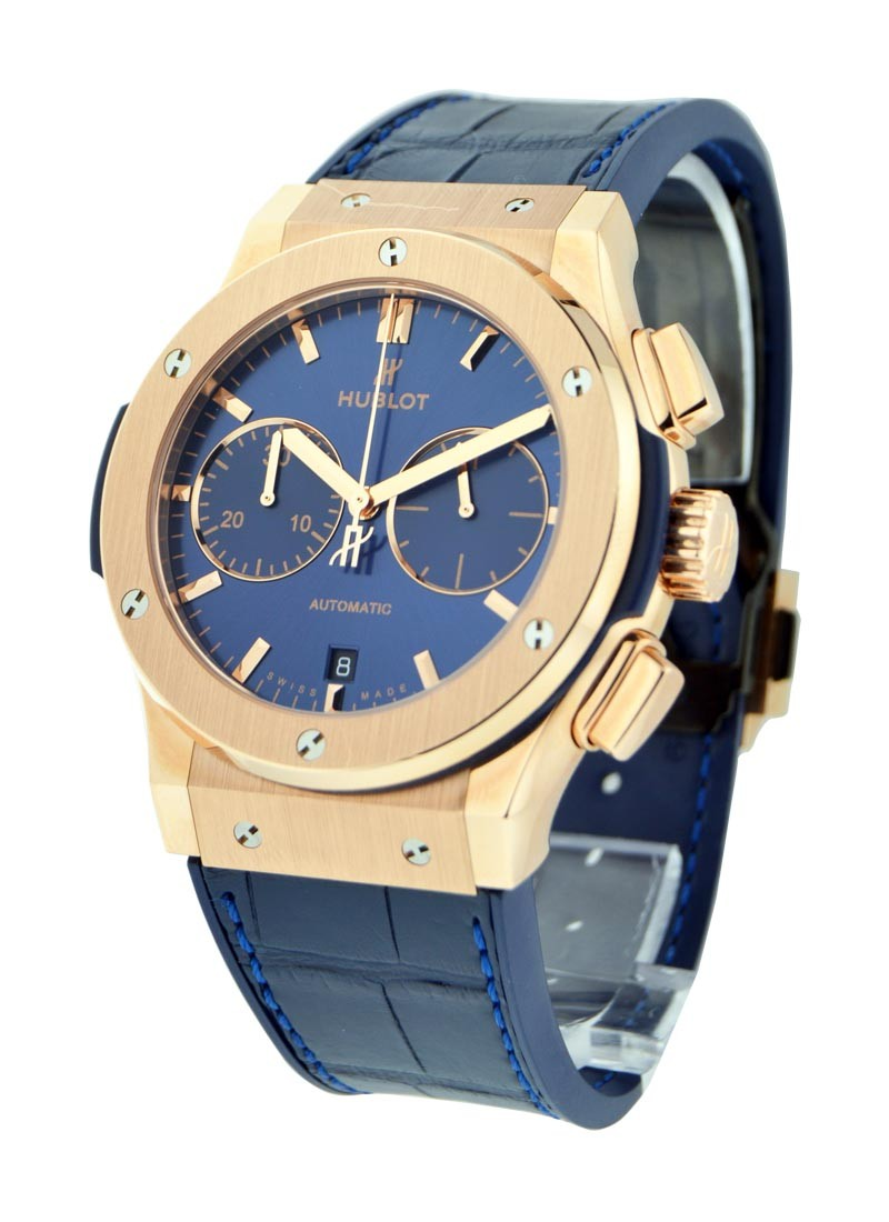 Hublot Classic Fusion 45mm Chronograph in Rose Gold