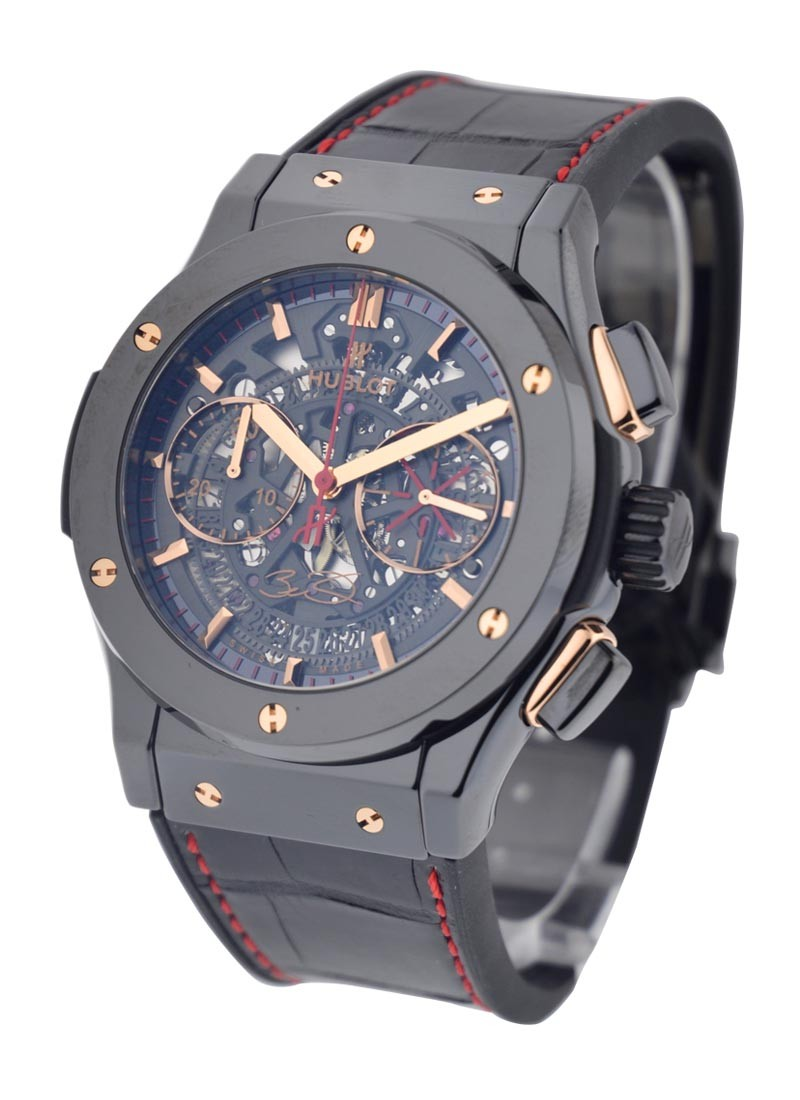 Hublot Classic Fusion Dwayne Wade  45mm in Black Ceramic