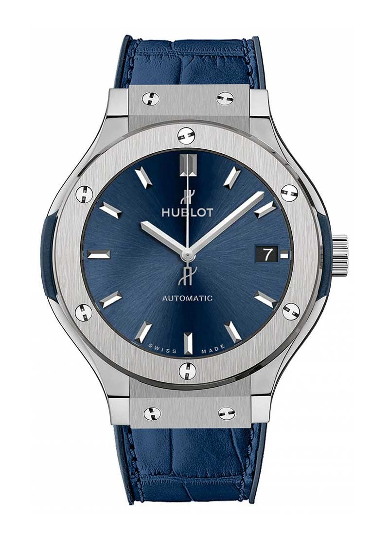 Hublot Classic Fusion Mens 38mm Automatic in Titanium