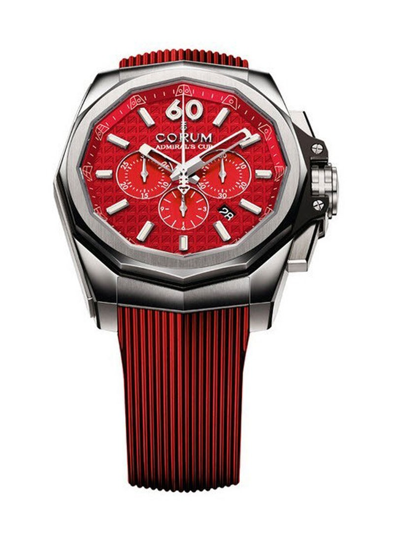 Corum Admirals Cup AC One Red Flag in Titanium   Limited to 25 pcs