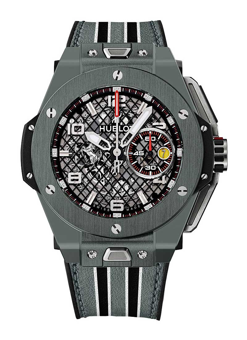 Hublot Big Bang UNICO Ferrari 45mm in Grey Ceramic