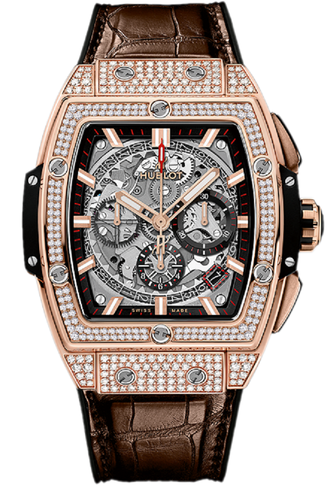 Hublot Spirit of Big Bang in Rose Gold with Diamond Bezel