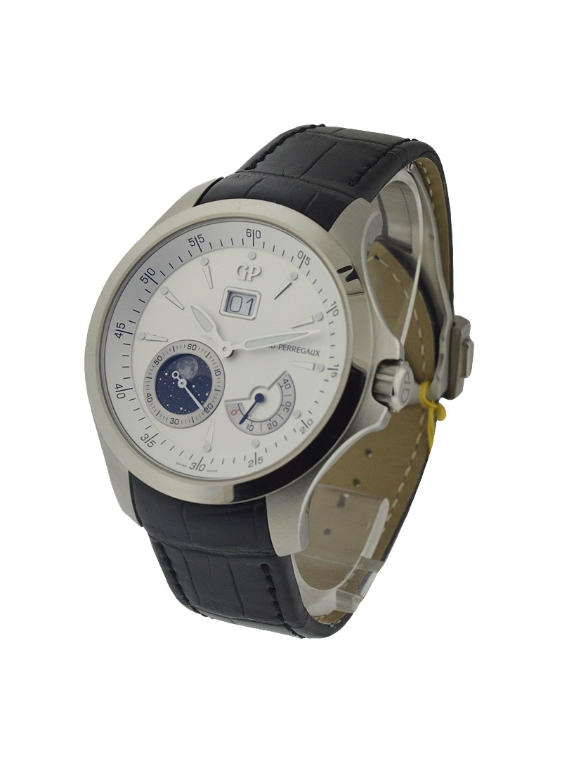 Girard Perregaux Traveller Big Date with Moon Phase and GMT