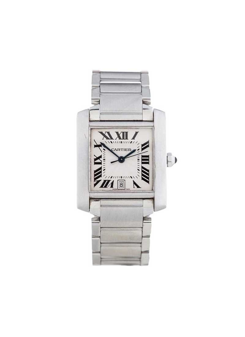 Cartier Tank Francaise Large in Steel