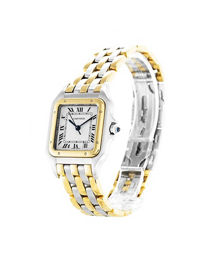 Cartier Santos 26mm Quartz in Steel and Yellow Gold