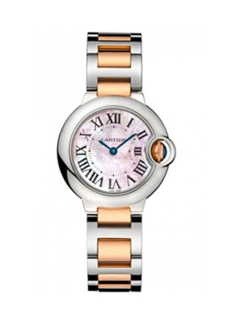 Cartier Ballon Bleu in Steel and Rose Gold