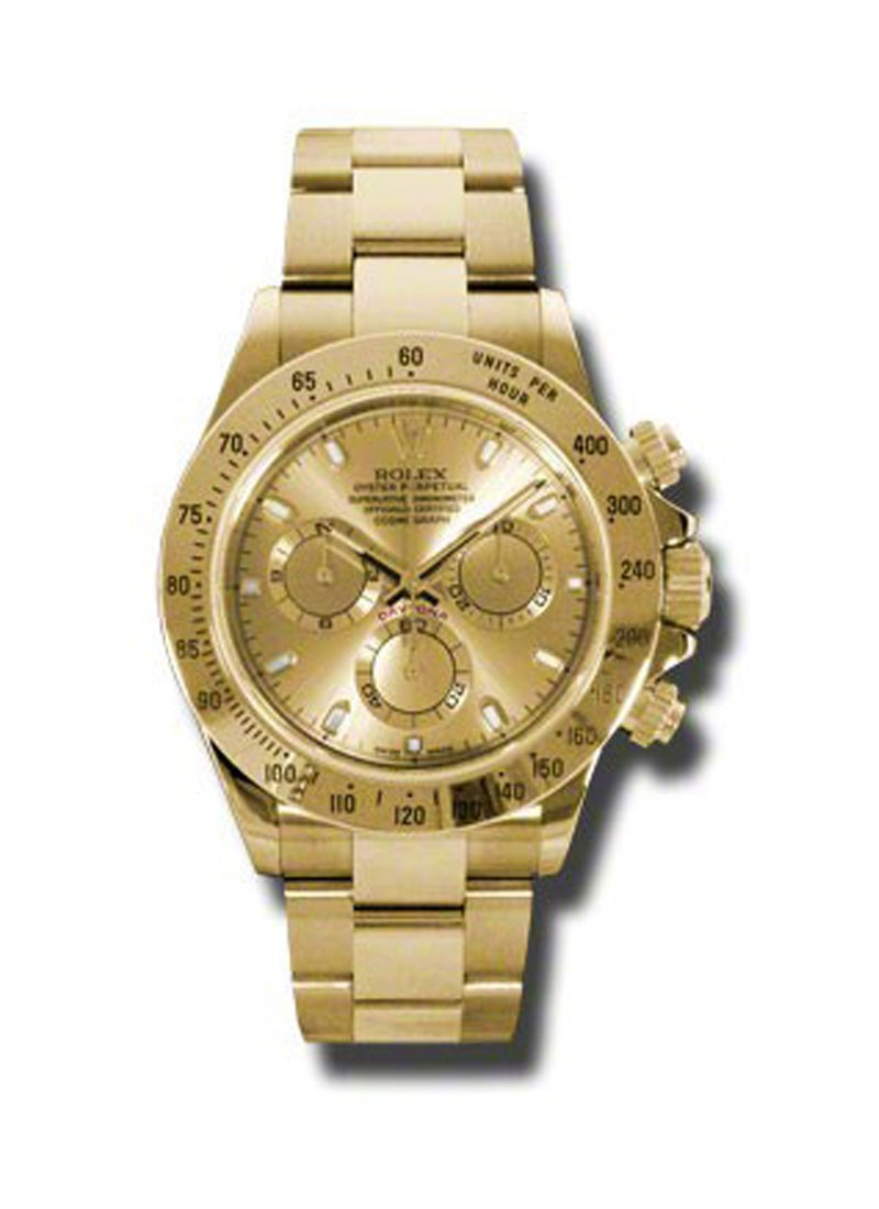 Rolex Used Yellow Gold Dayton on Bracelet