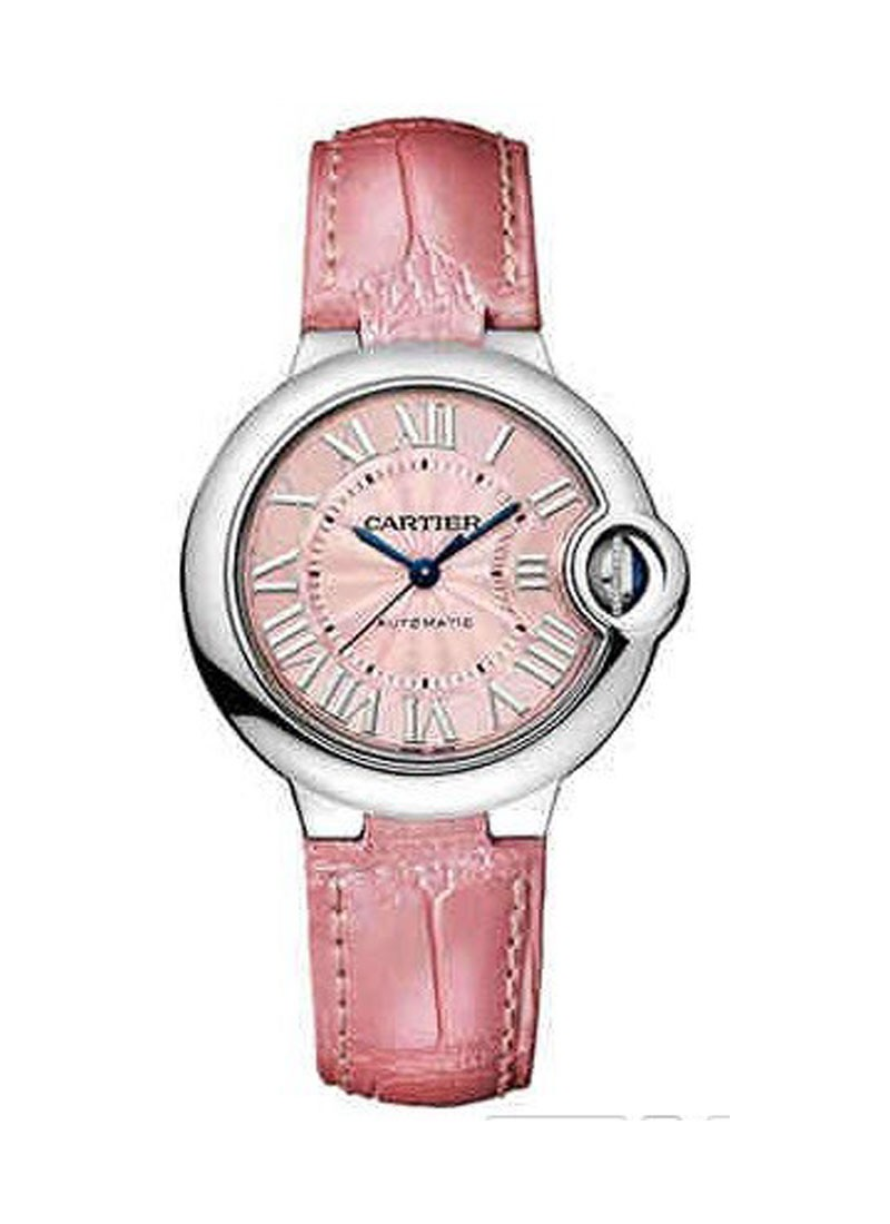 Cartier Ballon Bleu Ladies 33mm Automatic in Steel