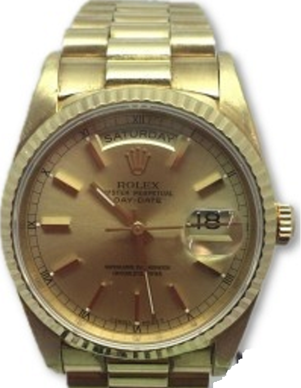 Rolex Used President 36mm Automatic in Yellow Gold
