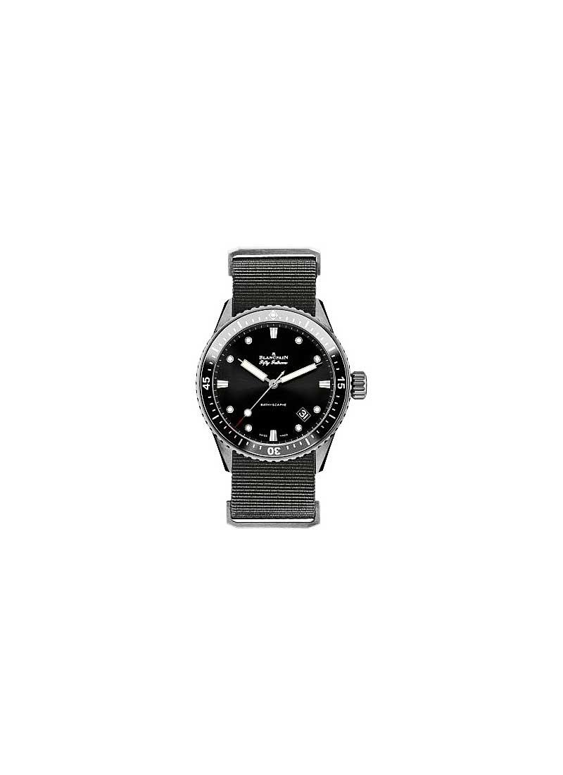 Blancpain Fifty Fathoms Bathyscaphe Ceramic Automatic in Ceramic
