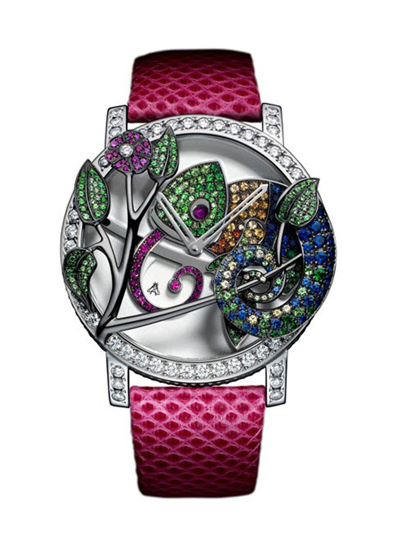 Boucheron Crazy Jungle Chameleon in White Gold with Diamonds