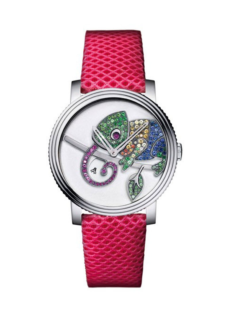 Boucheron Crazy Jungle Chameleon in White Gold