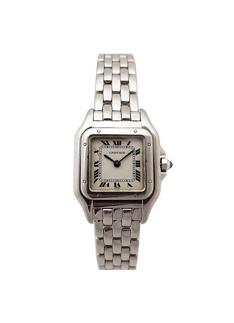 Cartier Panther Ladies 22mm Quarts in White Gold