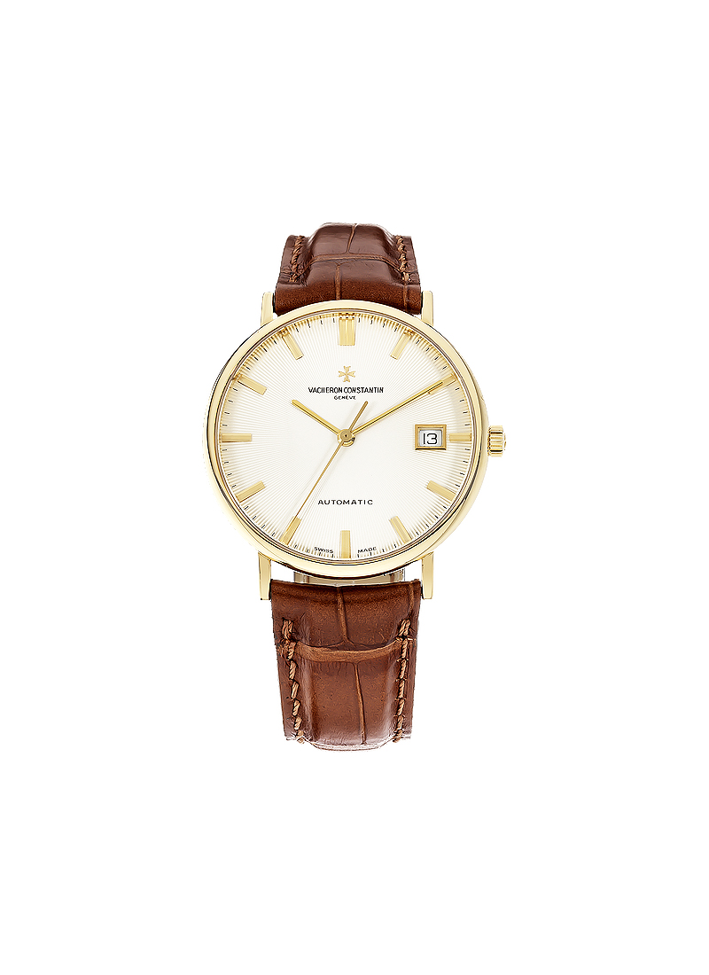 Vacheron Constantin Patrimony Mens 35mm Automatic in Yellow Gold