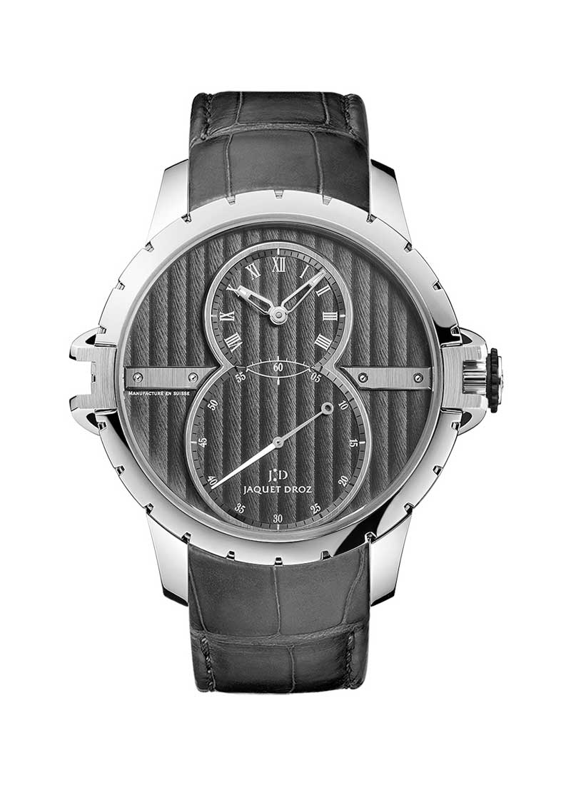 Jaquet Droz Grande Seconde SW Mens 41mm Automatic in Steel