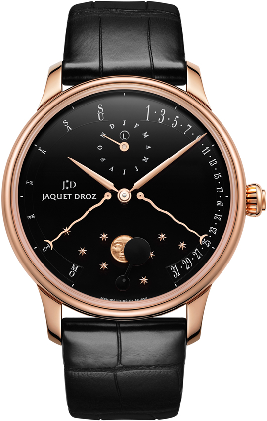Jaquet Droz Astrale Quantieme Perpetual Eclipse in Rose Gold