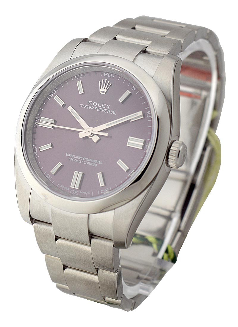 Rolex Unworn Oyster Perpetual 36mm Automatic in Steel with Smooth Bezel