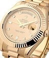 Rolex Used Day Date II President Rose Gold