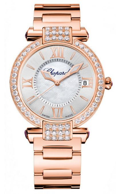 Chopard Imperiale with Diamond Bezel Automatic on Rose Gold Bracelet