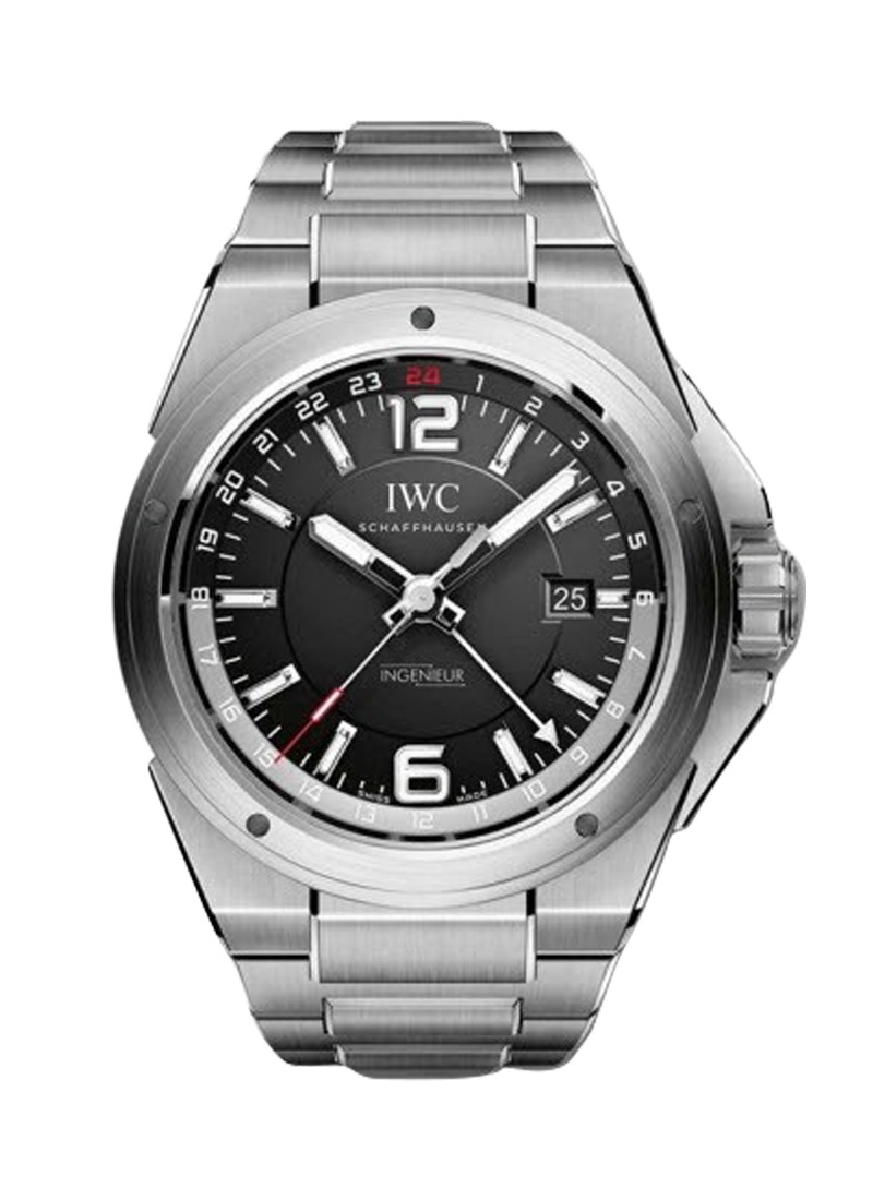 IWC Ingenieur Dual Time 43mm in Steel