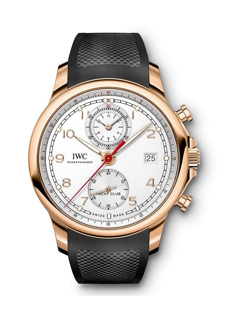 IWC Portuguese Yacht Club in Rose Gold