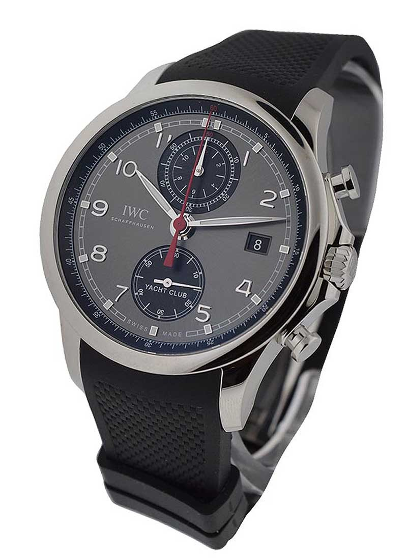 IWC Portuguese Yacht Club Chronograph with Slate Dial