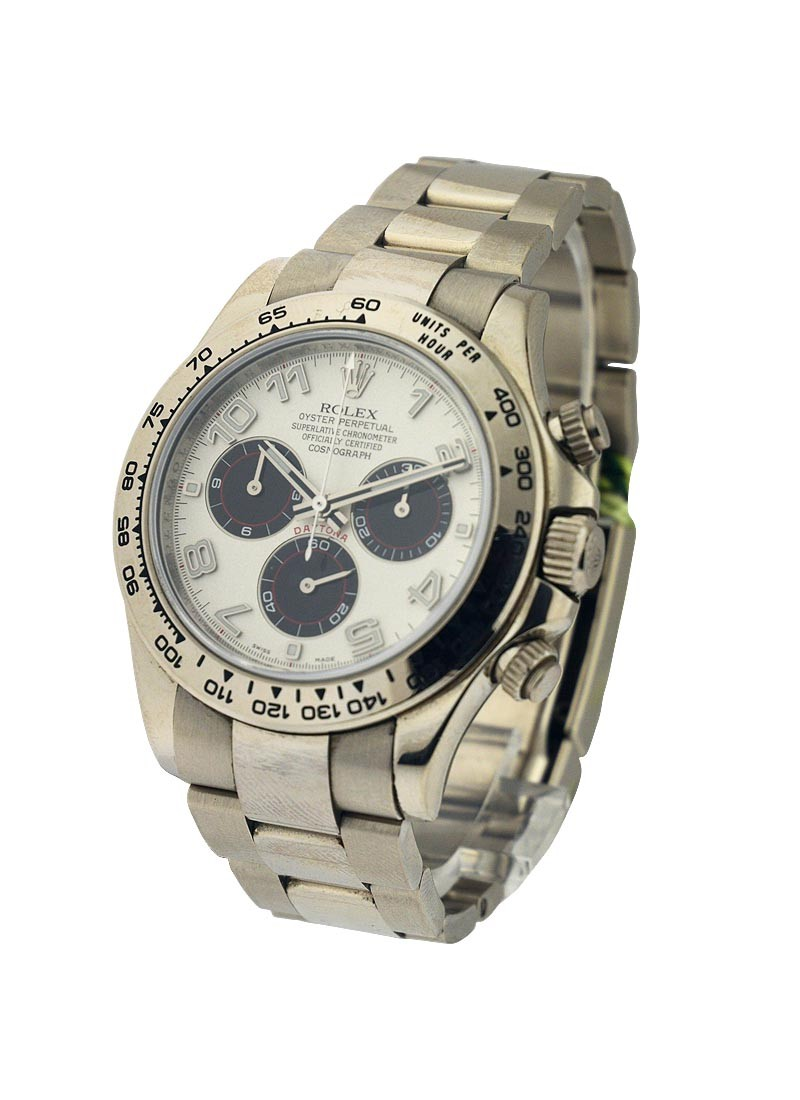 Rolex Used White Gold Daytona on Bracelet 116509