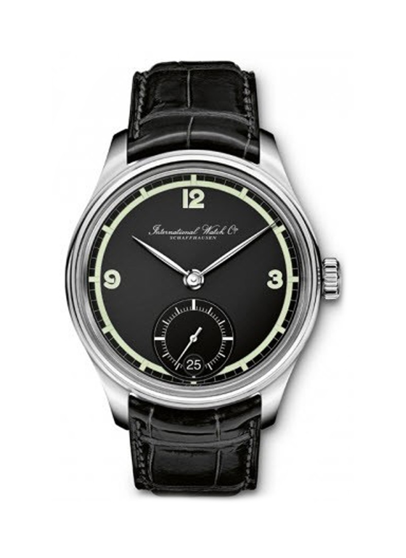 IWC Portuguese Hand Wound Manual in Steel