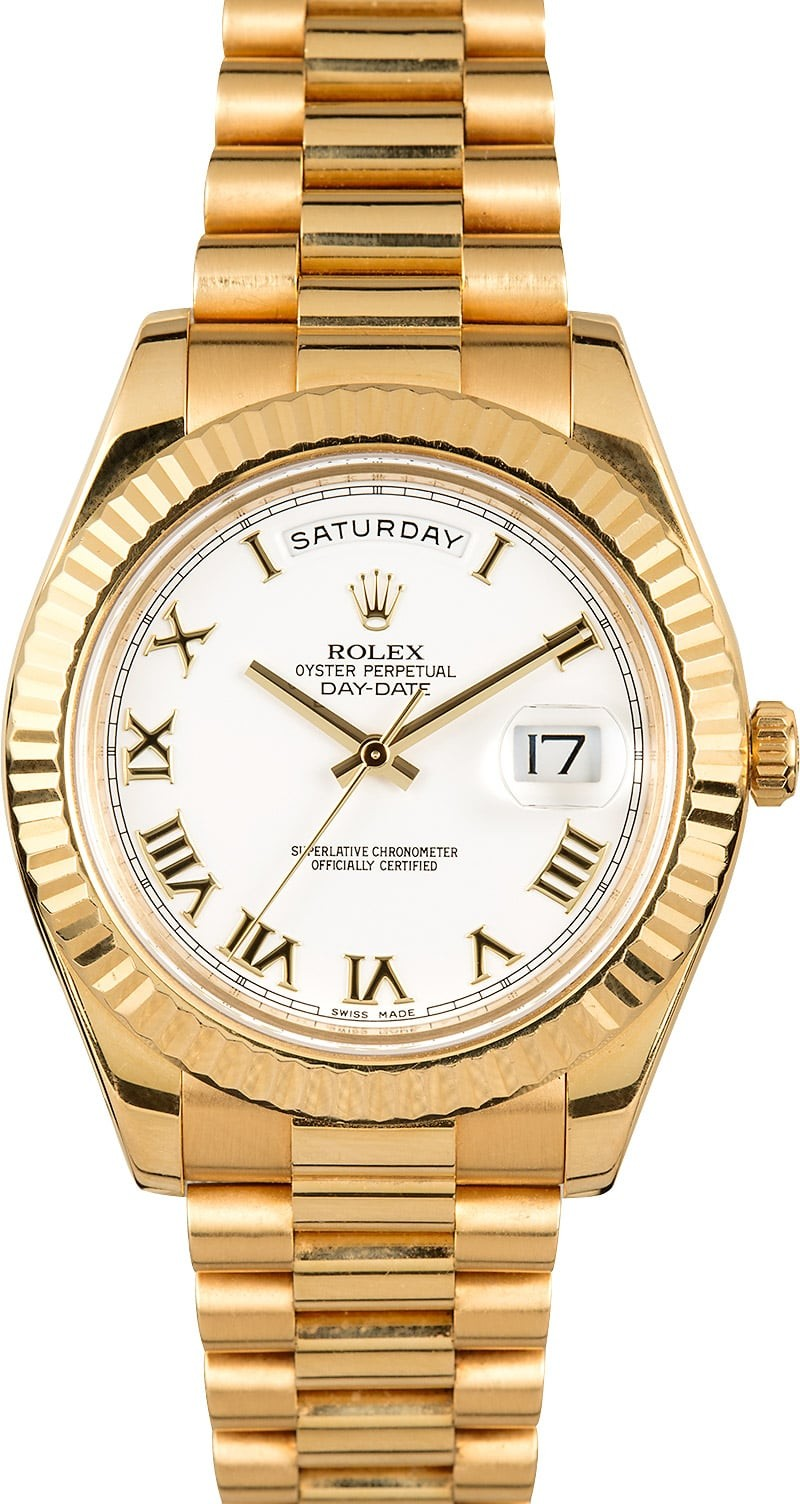 Rolex Used Men''s President II Day Date in Yellow Gold