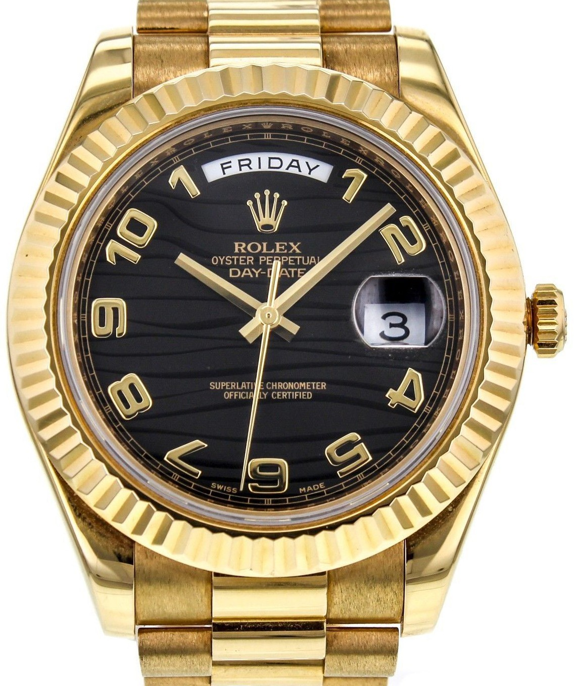 Rolex Used Day Date II President   Yellow Gold