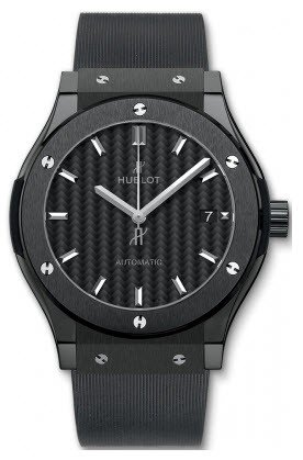 Hublot Classic Fusion Black Magic Mens 45mm Automatic in Black Ceramic