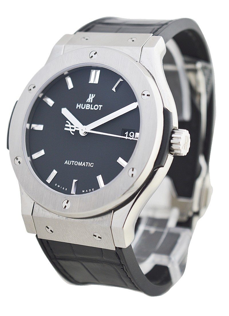 Hublot Classic Fusion Mens 45mm Automatic in Titanium