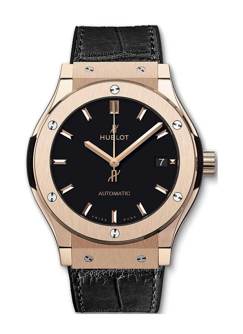 Hublot Classic Fusion Mens 45mm Automatic in Rose Gold