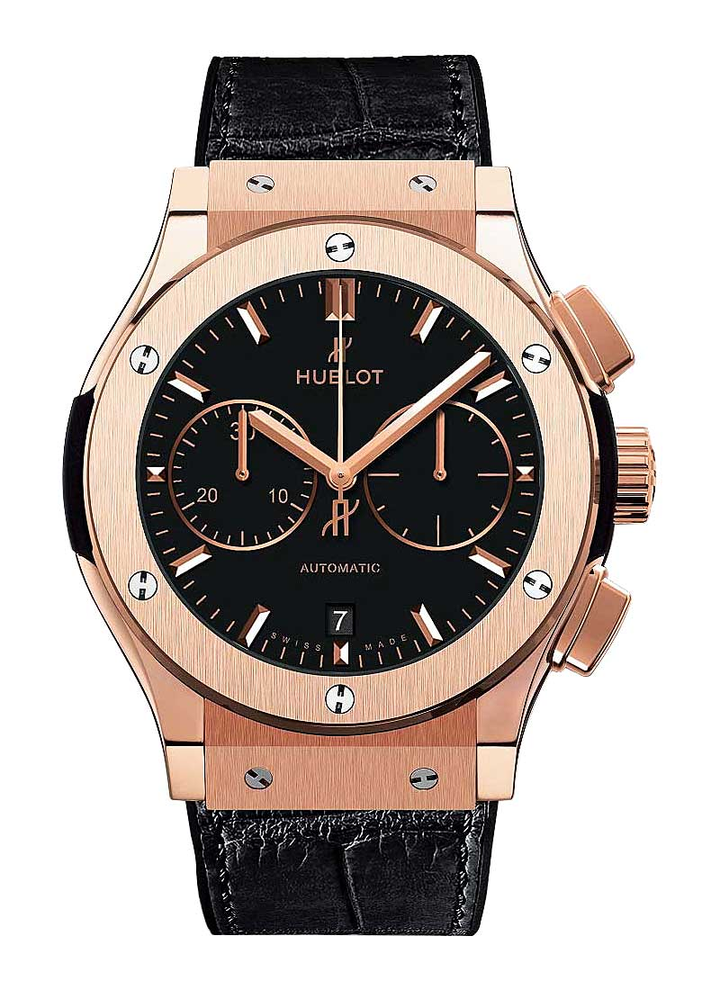 Hublot Classic Fusion Chronograph in Rose Gold