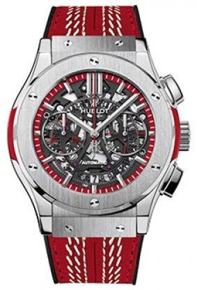 Hublot Classic Fusion Aerofusion Cricket World Cup 2015 Mens 45mm Automatic in Rose Gold