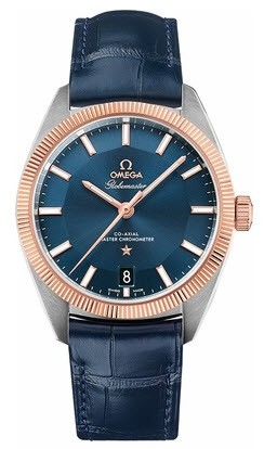 Omega Constellation Globemaster Co Axial Chronometer Master 39mm in 2 Tone