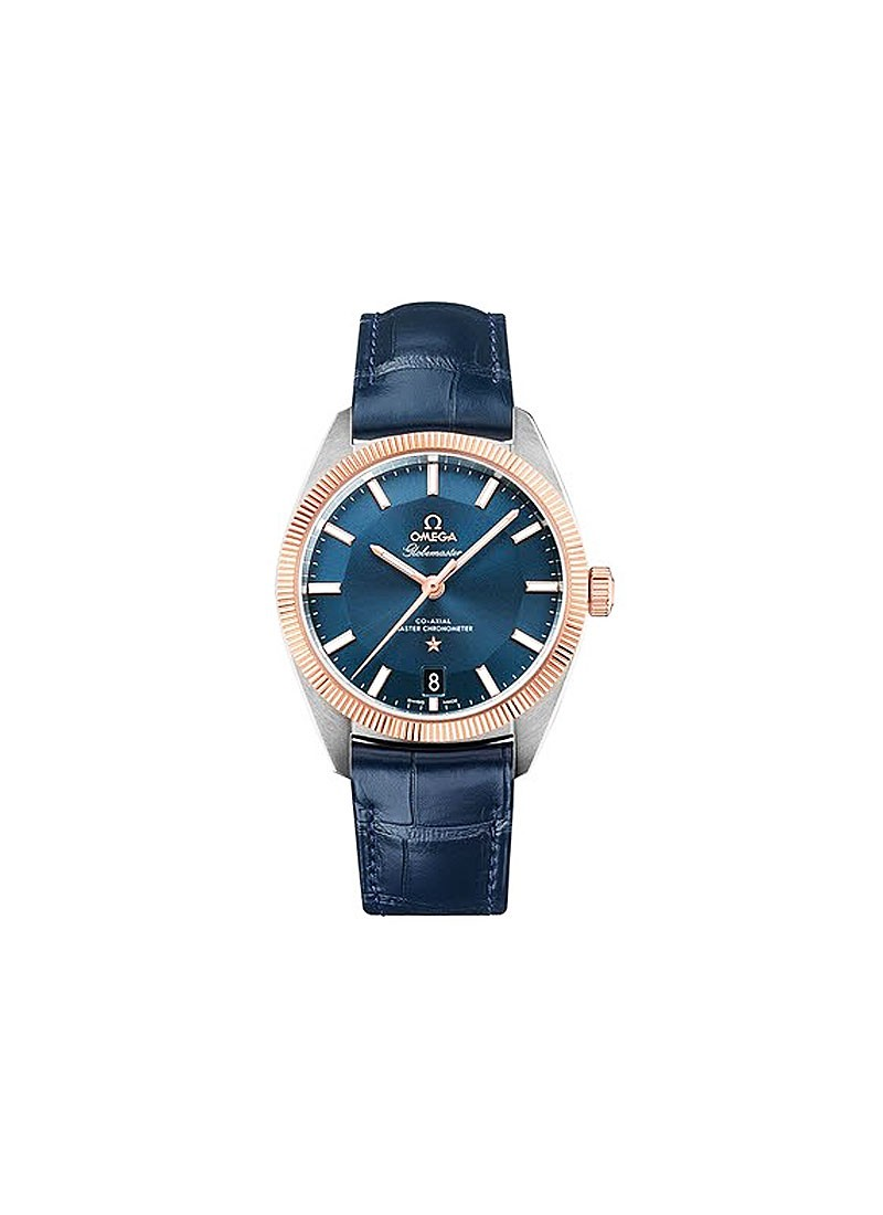 Omega Constellation Globemaster Co-Axial Chronometer Master 39mm in 2-Tone